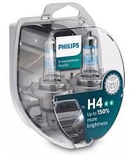 "Автомобильные  лампы ""PHILIPS"" (H4)(X-tremeVision Pro150)"