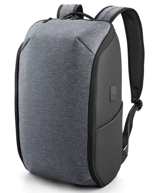 Рюкзак городской Kingsons KS3203W влагостойкий ортопедический серый 30л