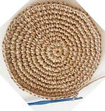 Шпагат  джутовый  полированный   для вязания 1кг(950м), фото 4
