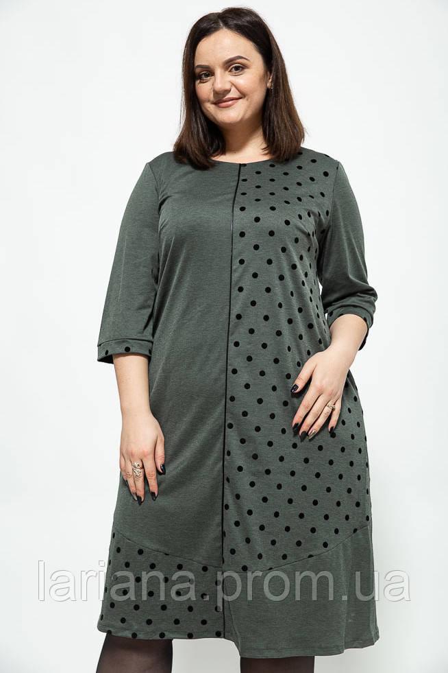 Платье женское 150R649 цвет Зеленый