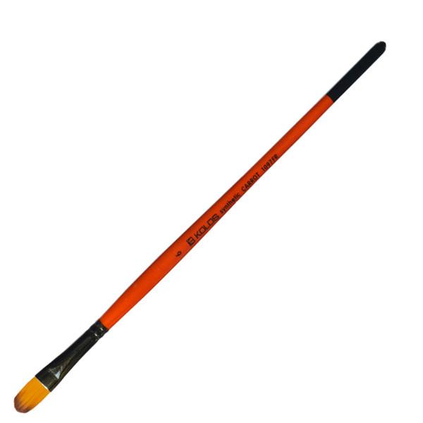 Кисть синтетика Kolos Carrot 1097FR овальная №6 кор. ручка (4823064901535)