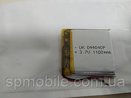Аккумулятор 044040 для China (Li-ion 3.7В 1100мА·ч), (40*40*4 мм)
