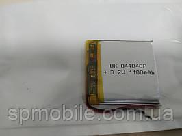 Акумулятор 044040 для China (Li-ion 3.7 В 1100мА·год), (40*40*4 мм)