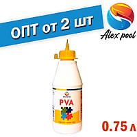 Eskaro LIIM PVA 0,75 л Универсальный клей ПВА для внутренних работ - для бумаги, картона, кожи, тканей, керами