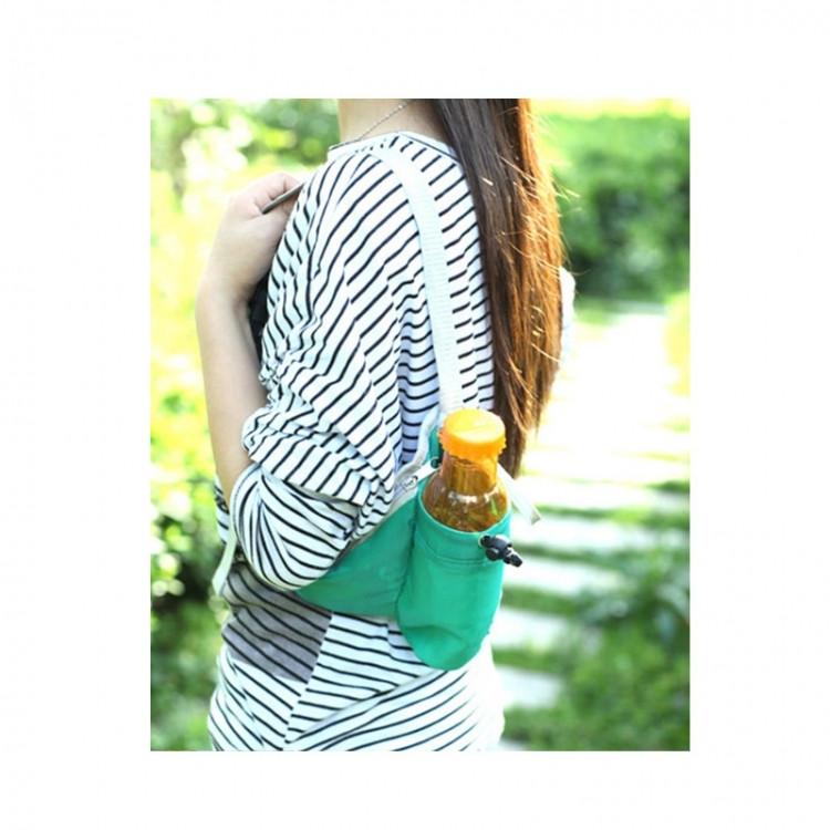 Многофункциональная сумка на талию Sport (зеленая)