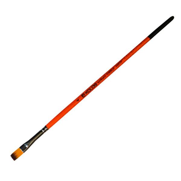 Синтетика плоска, Carrot 1097F № 4 к. р кисть Колос