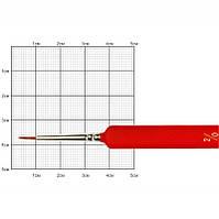 Кисть колонок Rosa Nail art 3009L Kolos круглая №2/0 кор. ручка (4823064900705)