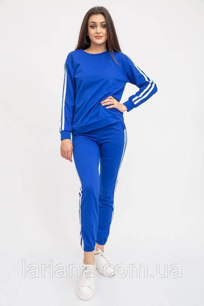 Спорт костюм женский 119R608 цвет Электрик