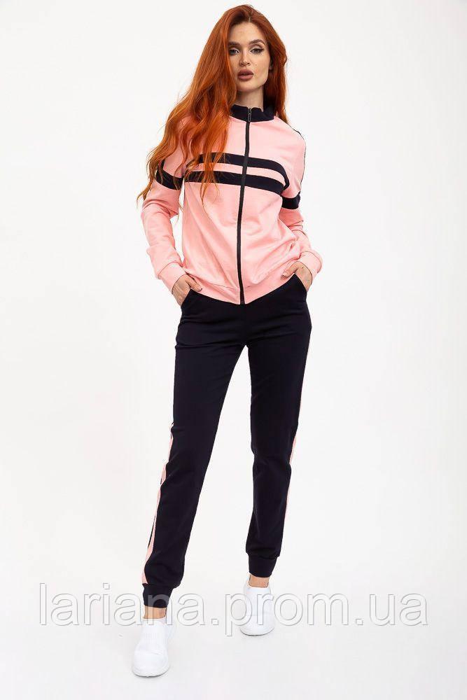 Спорт костюм женский 119R604 цвет Розово-черный