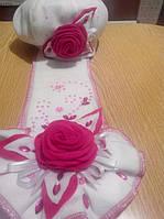 Комплект детский берет и шарф