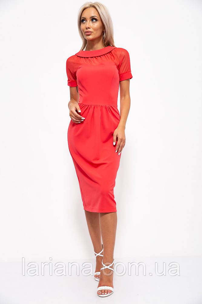 Платье 150R455 цвет Коралловый