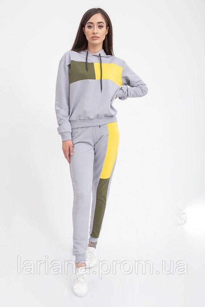 Спорт костюм женский 117R2964 цвет Серый