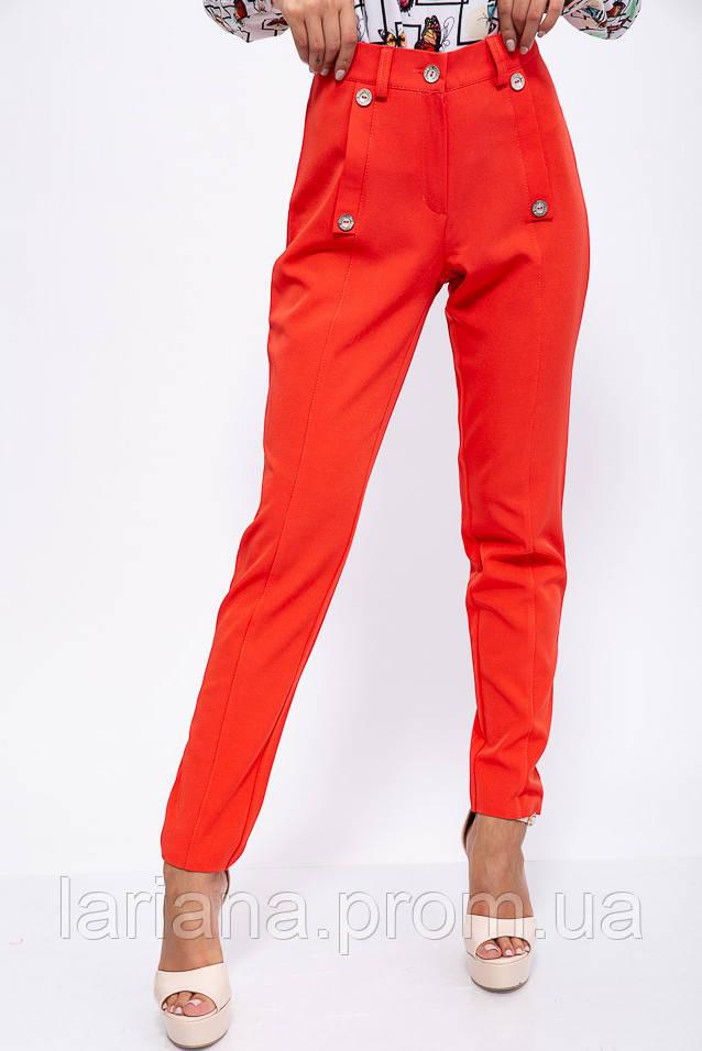 Брюки женские 150R099 цвет Красный