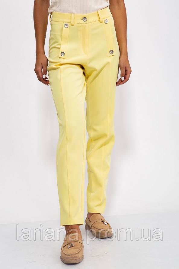 Штани жіночі 150R099 колір Жовтий