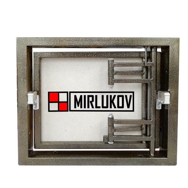 Люк невидимка под плитку 400х300 Нажимной (ШхВ)