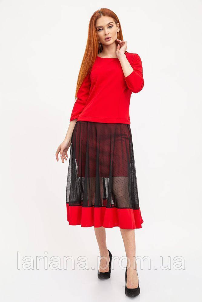 Платье женское 119R461 цвет Красный