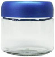 Банка стеклянная с пластиковой крышкой Everglass Велюр 280мл 1шт (82285)