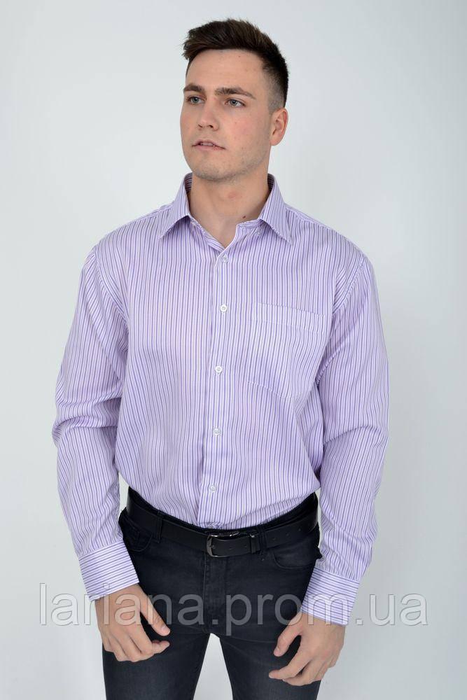 Рубашка 22#LS цвет Сиреневый