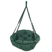Кресло-гамак 100 кг 80 см Темно-зеленое