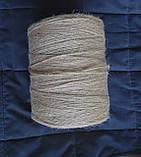Шпагат джутовый двухниточный для вязания 0,6 кг, фото 7