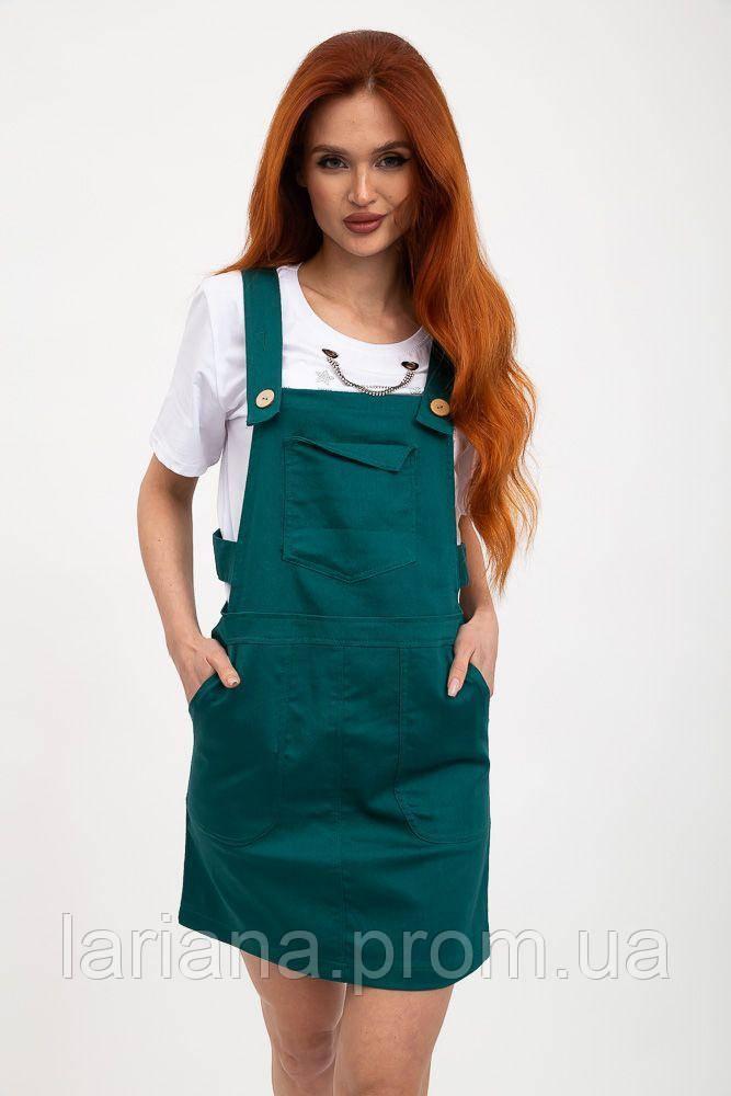 Сарафан женский 119R309 цвет Темно-зеленый