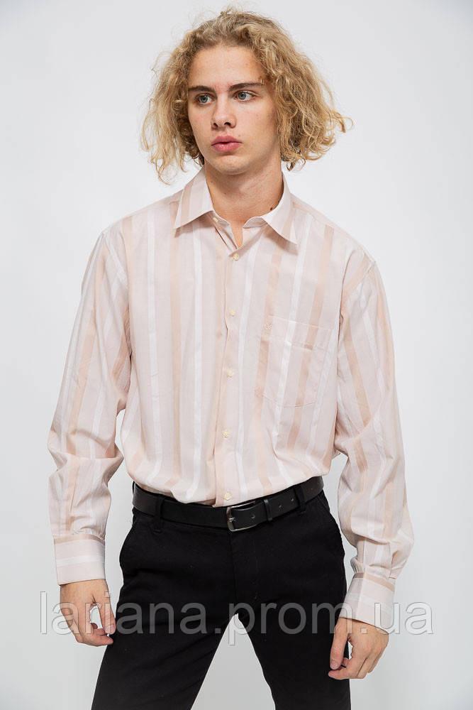 Рубашка мужская 113R288 цвет Бежевый