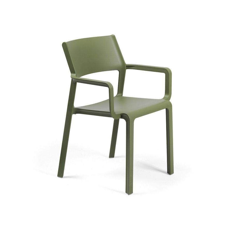 Крісло Trill agave з підлокітниками  58,5х53,5х82,5см