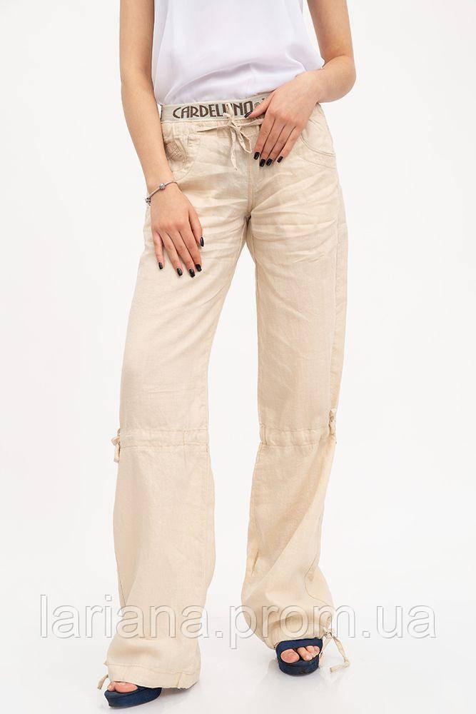 Спорт брюки женские 123R5112 цвет Бежевый