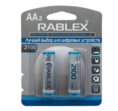 Аккумулятор AA Rablex 2100mAh, фото 2