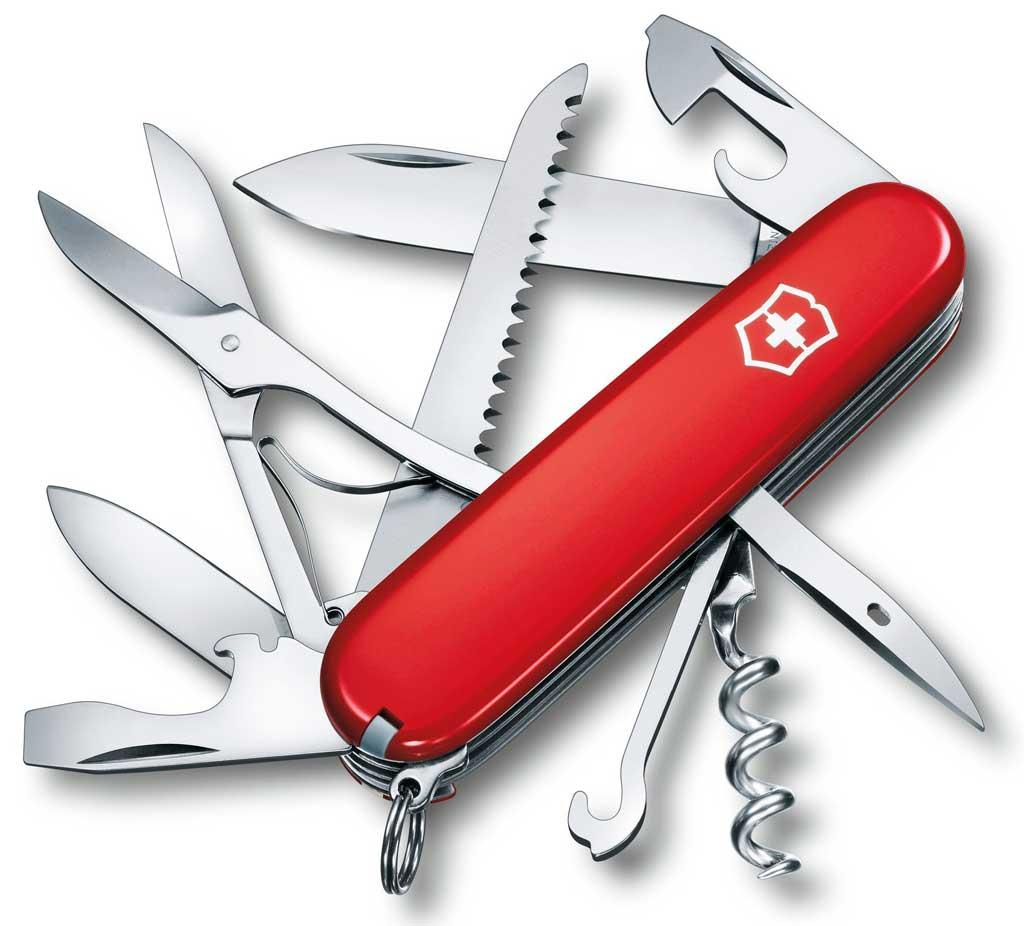 Многофункциональный нож Victorinox 1.3713 Huntsman красный