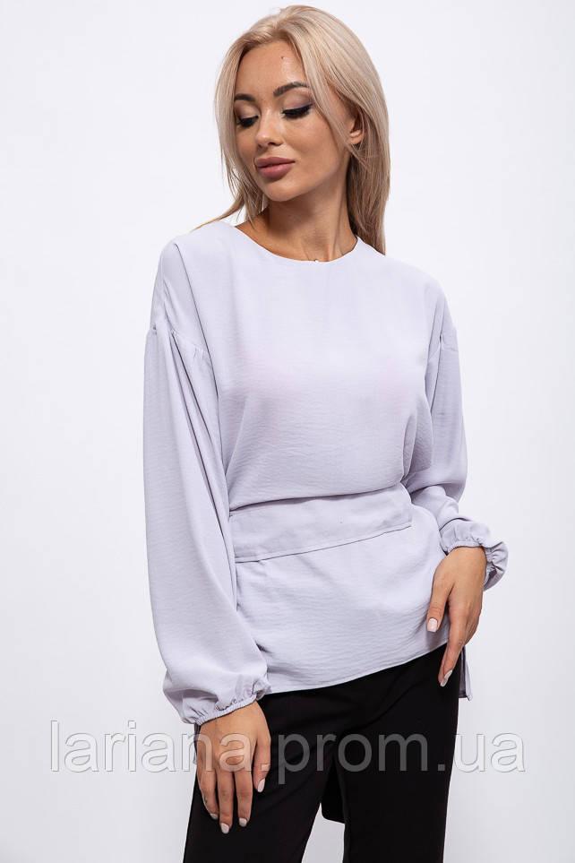 Блуза женская 115R242 цвет Стальной