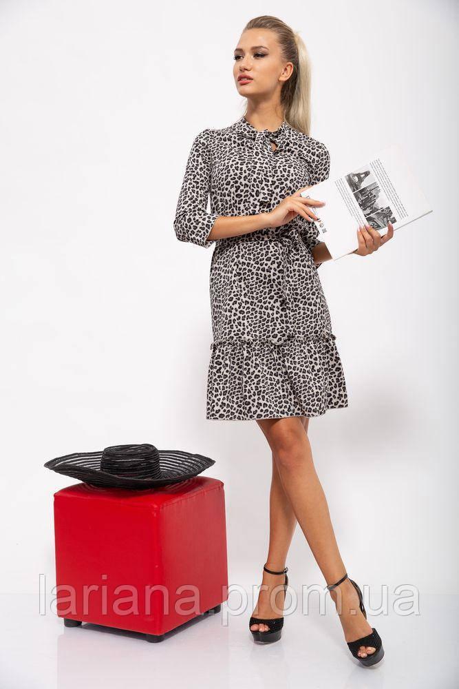 Платье женское 112R485-1 цвет Леопардовый