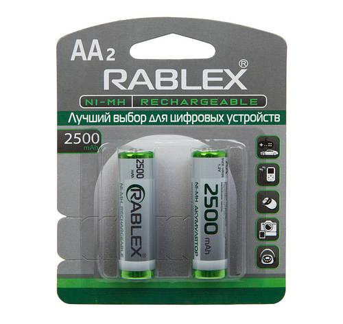 Аккумулятор AA Rablex 2500mAh, фото 2
