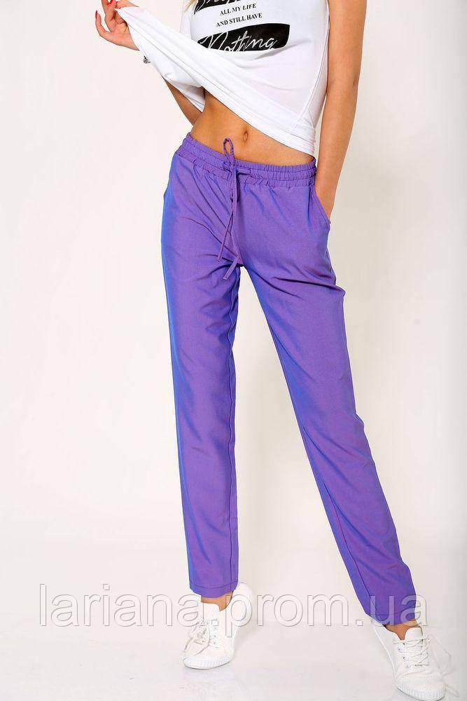 Брюки женские 115R231 цвет Фиолетовый