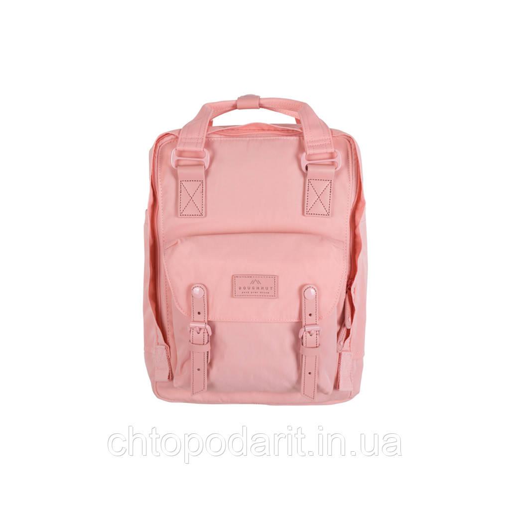 Женский городской рюкзак Doughnut Macaroon Pastel розовый  Код 11-1001