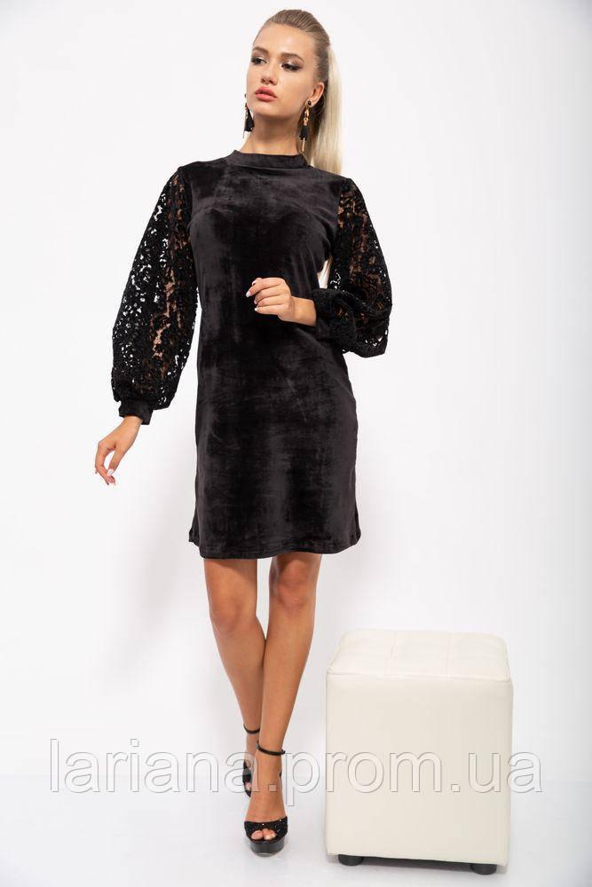 Платье женское 112R470 цвет Черный