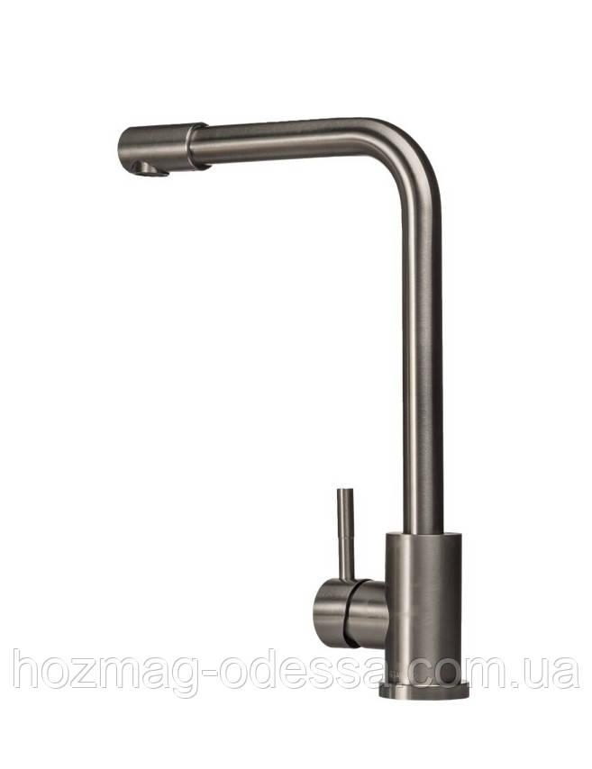 Cмеситель кухонный GLOBUS LUX  нержавеющая сталь