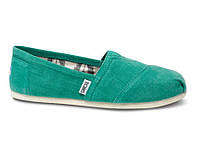 Женские TOMS Green Earthwise Women's Vegan Classics