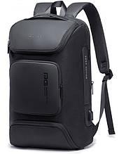 Рюкзак городской Bange BG-7078  USB-разъем влагостойкий черный 30л