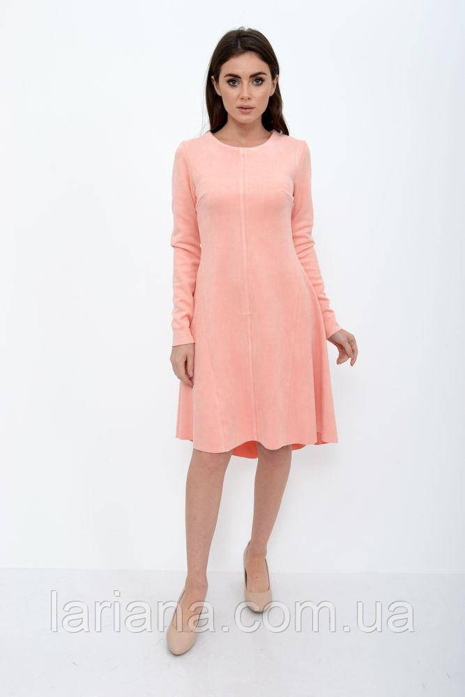 Платье женское 112R467 цвет Персиковый