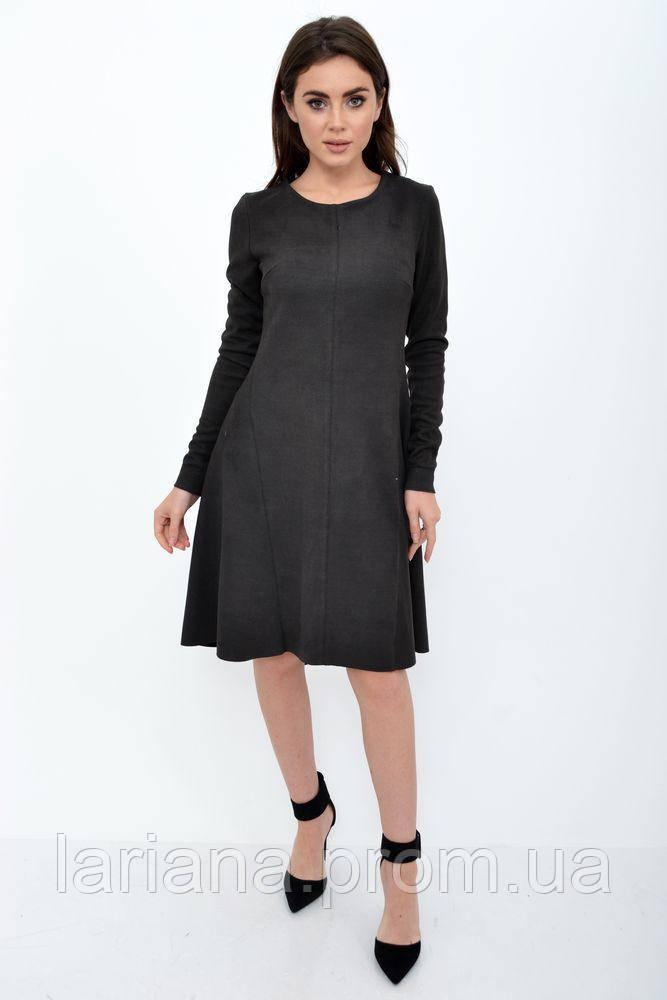 Платье женское 112R467 цвет Грифельный