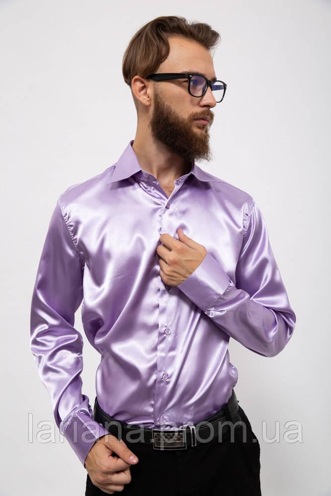 Рубашка 0990CR цвет Сиреневый