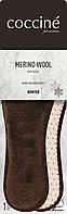 Стельки зимние из шерсти мериноса Coccine MERINO WOOL