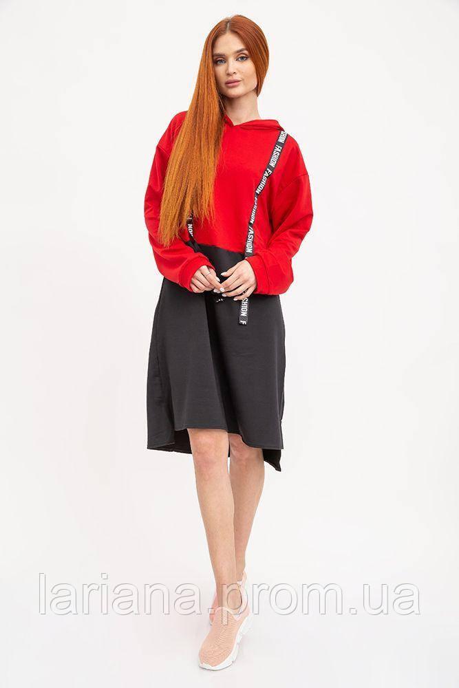 Туника женская 112R005-443 цвет Красный