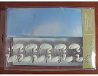 Шторы для ванны Arya 180x180 Ducks, арт. 1353013