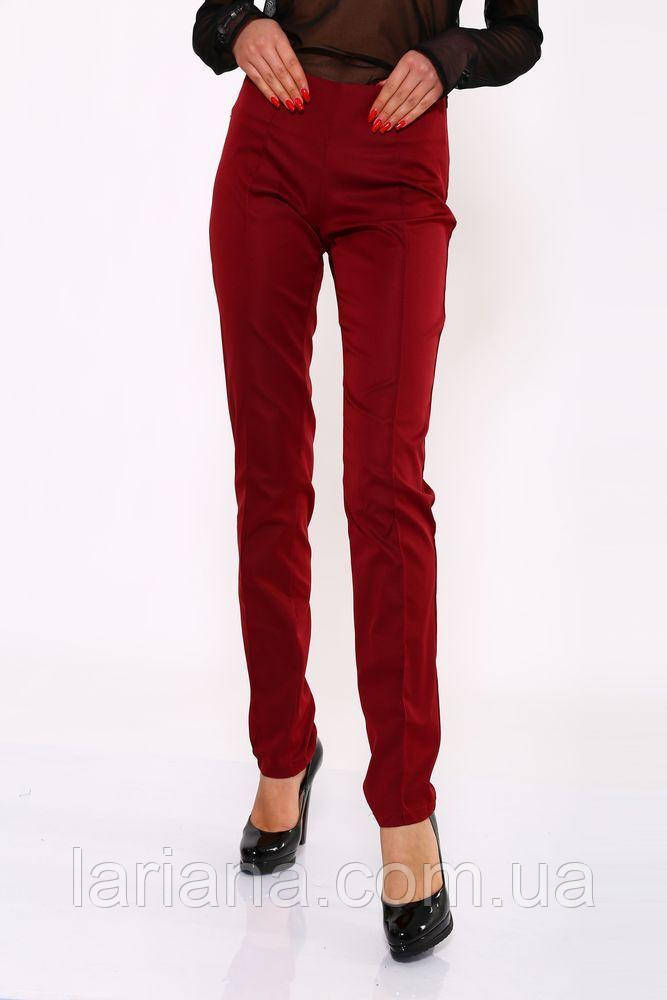 Брюки женские 104R141 цвет Бордовый