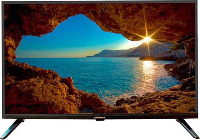 "Телевизор 55"" Grunhelm GT9UHD55 Black, фото 2"