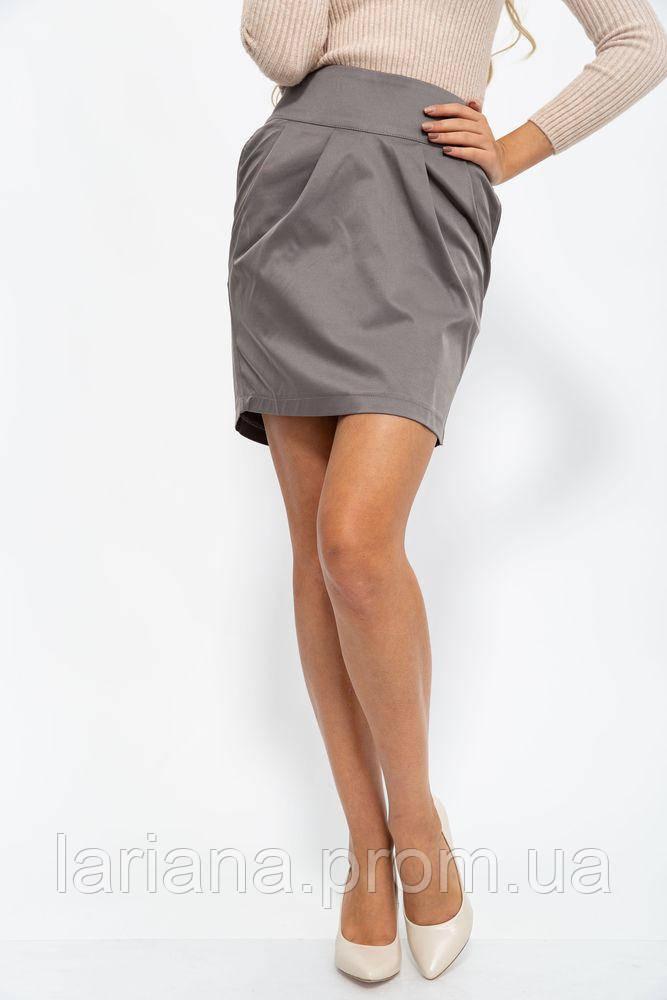 Юбка 115R10-1 цвет Серо-коричневый