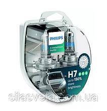 "Автомобильные  лампы ""PHILIPS"" (H7)(X-tremeVision Pro150)"