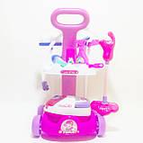 """Игровой набор для уборки с пылесосом """"Мамина помощница"""". Набор для девочек, фото 2"""
